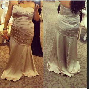 David's bridal mermaid dress